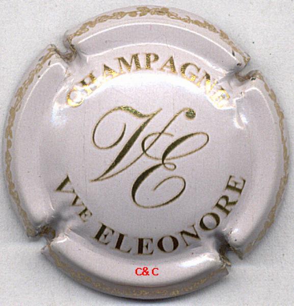 contour vert Capsule de champagne BEAUDOUIN René grandes lettres