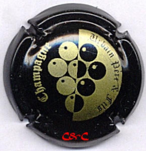 6. estampée métal pailleté Capsule de champagne MAXIMY Régis
