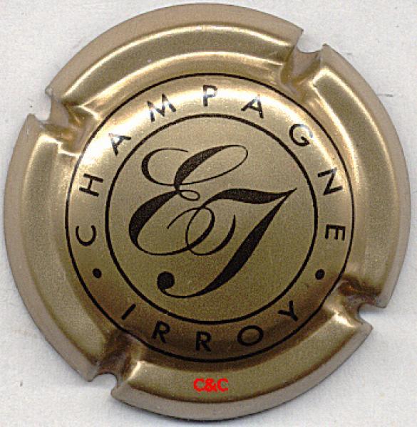 6. rouge et argent Capsule de champagne BAGNOST A. Doppen
