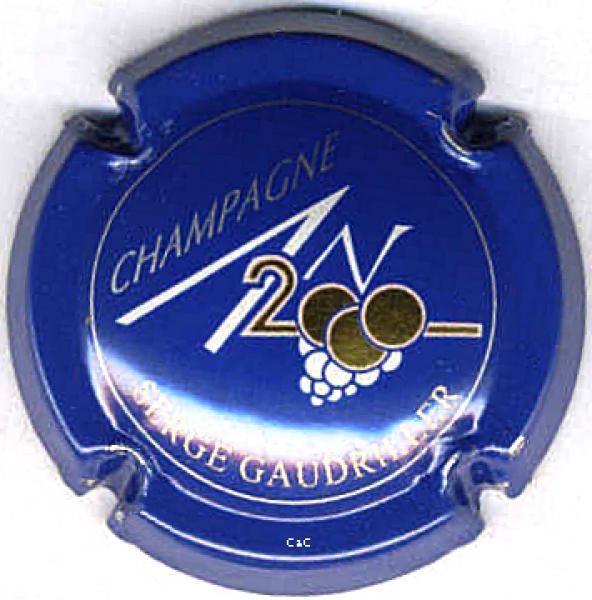 CAPSULE DE CHAMPAGNE GYE SUR SEINE SUR N°616*